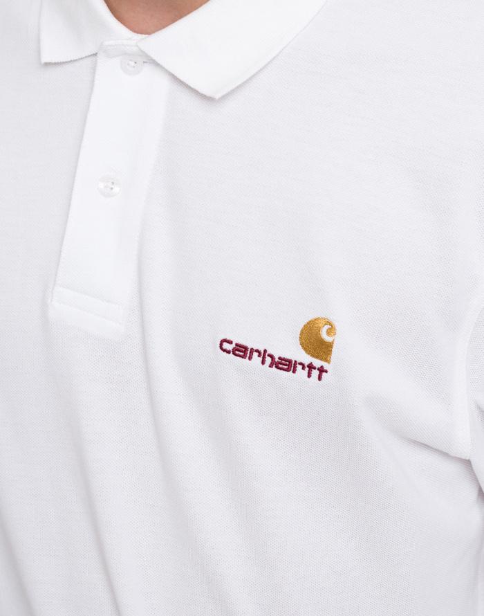 Triko - Carhartt WIP - American Script Polo