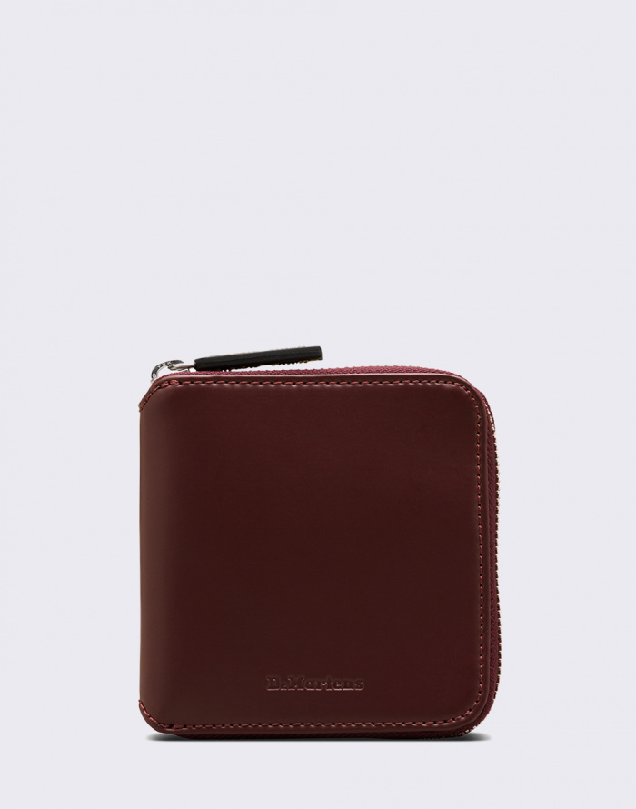 Peněženka Dr. Martens Leather Zip Wallet
