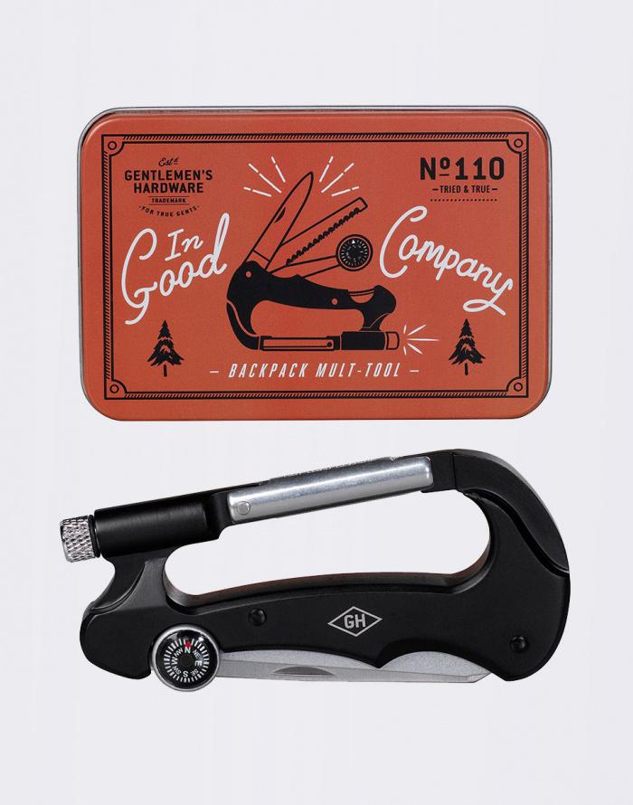 W & W - Carabiner Multitool
