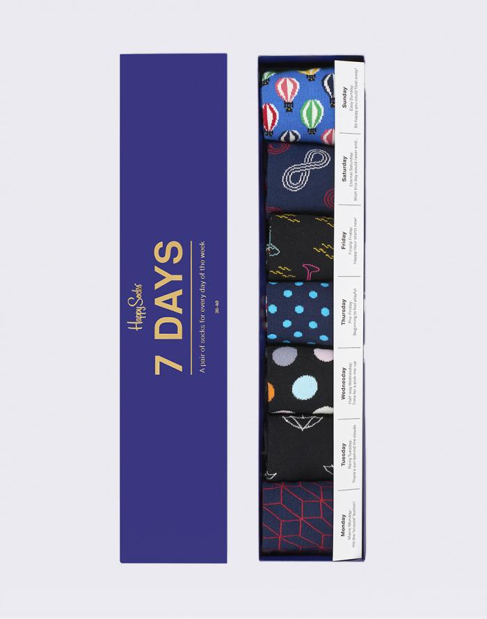 ab883174cea7 Socks - Happy Socks - 7 Days Gift Box