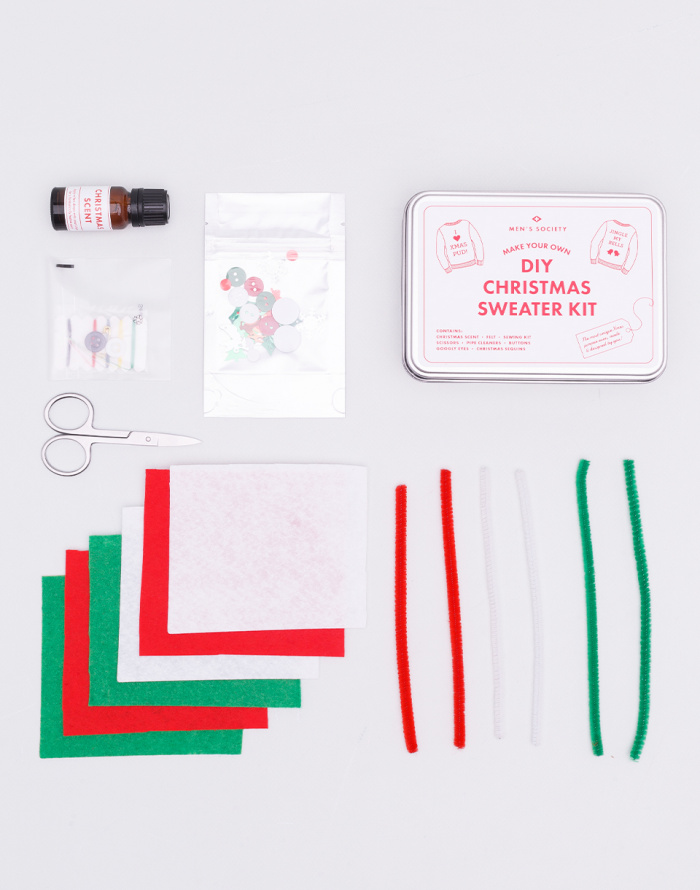 Dárek Men's Society DIY Christmas Sweater Kit