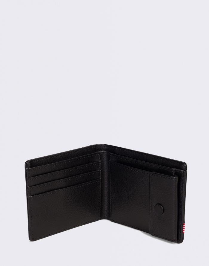Peněženka Herschel Supply Hank + Coin Leather RFID