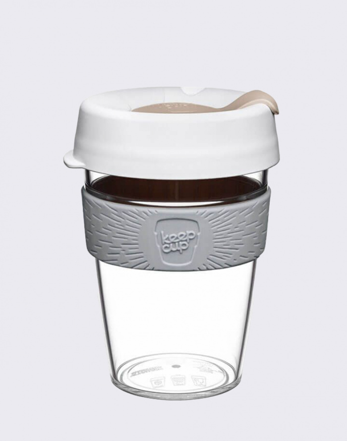 Coffee Mug - KeepCup - Clear Edition Nimbus M