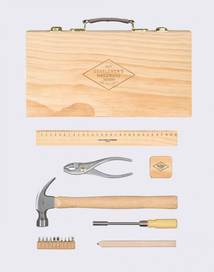 Dárkový set - W & W - Tool Kit in Wooden Box