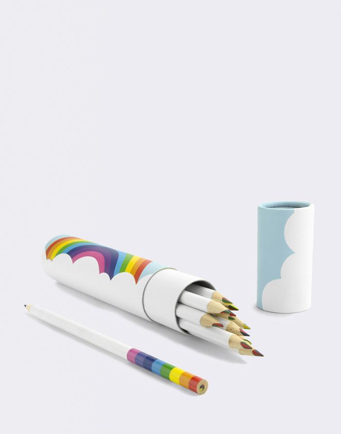 Just Mustard - Rainbow Pencils