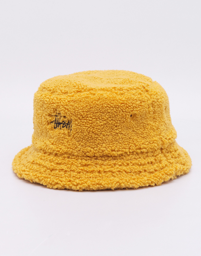 Hat - Stüssy - Sherpa Fleece Bucket Hat  66d1c108c93