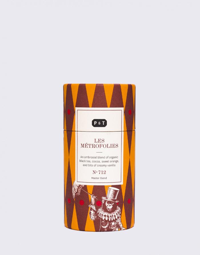 Čaj - P&T - Les Métrofolies No.712