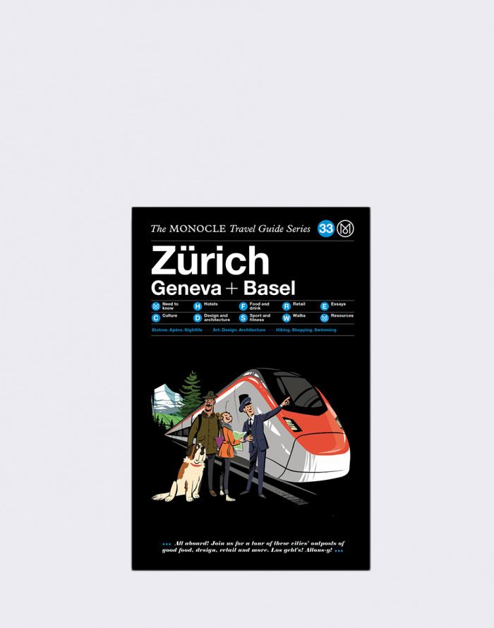 Kniha - Gestalten - Zürich Geneva + Basel: The Monocle Travel Guide Series