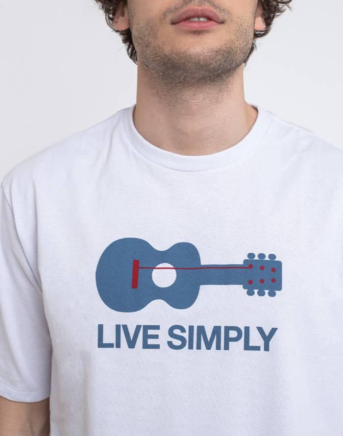 Triko Patagonia M's Live Simply Guitar Responsibili-Tee