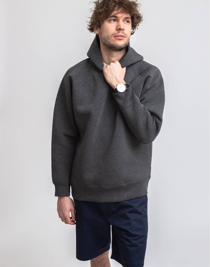 Mikina M.C.Overalls Bonded Jersey Pullover Hoody