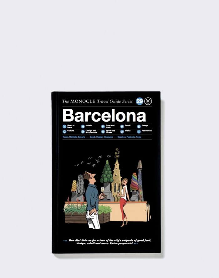 Kniha - Gestalten - Barcelona: The Monocle Travel Guide Series