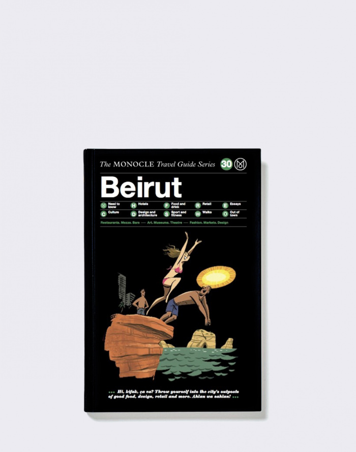 Kniha - Gestalten - Beirut: The Monocle Travel Guide Series