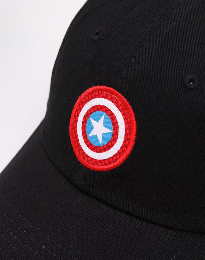 5f3095b31d0 ... Dad cap - Vans - Marvel Captain Shield ...