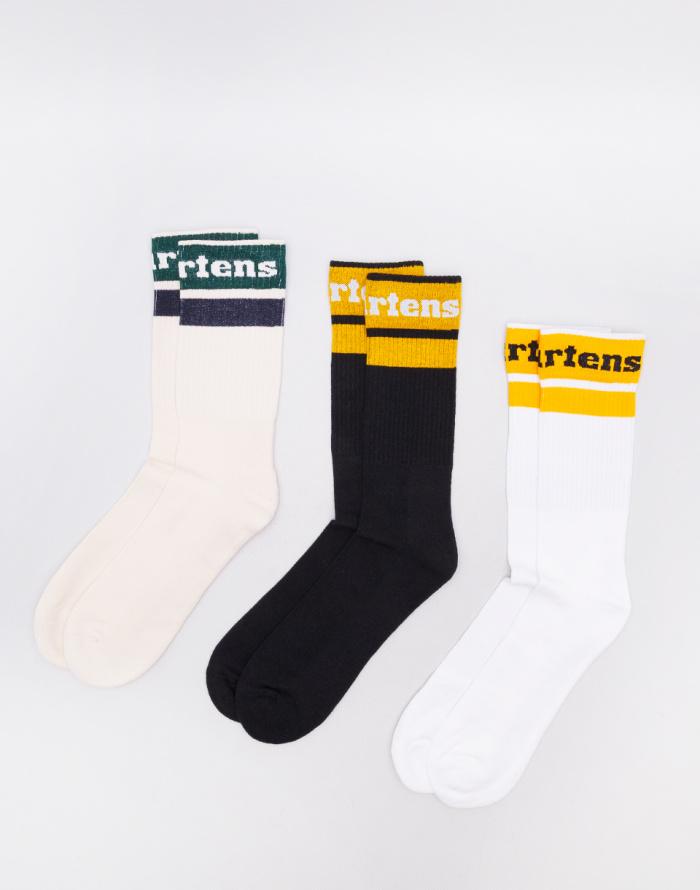 Ponožky Dr. Martens Athletic Sock 3PK