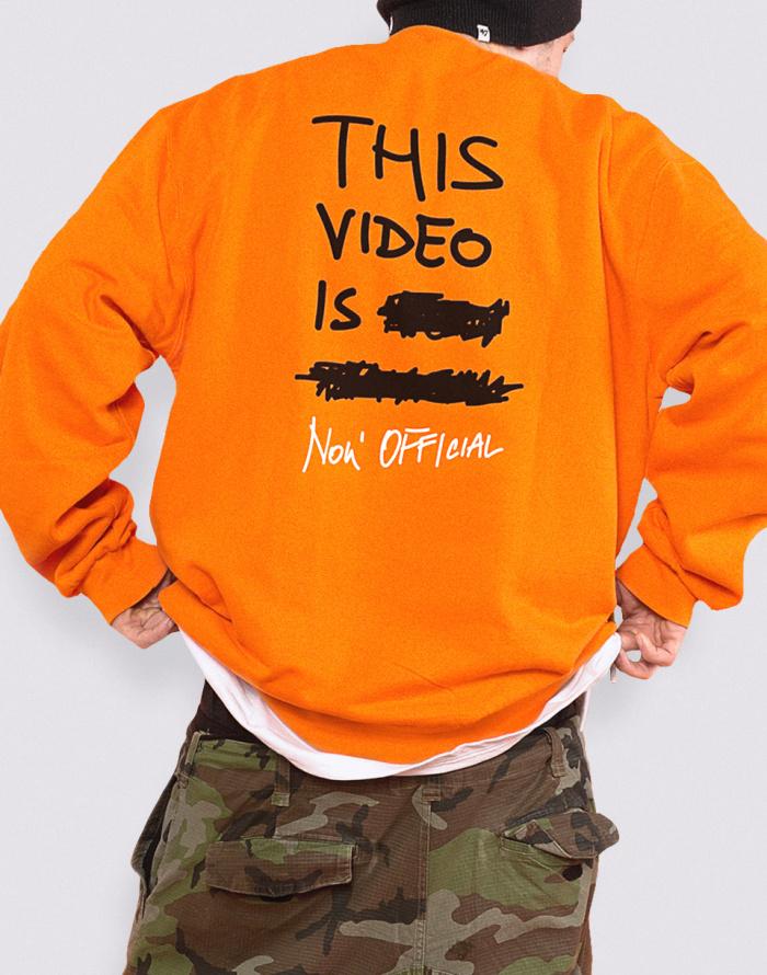 Mikina Marshal Apparel VHS Sweatshirt