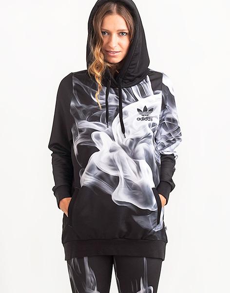 Mikina - adidas Originals - W Smoke Hoodie  b4d8874054b