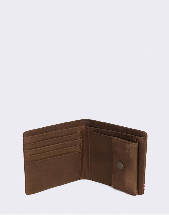 Peněženka - Herschel Supply - Roy + Coin XL Leather RFID