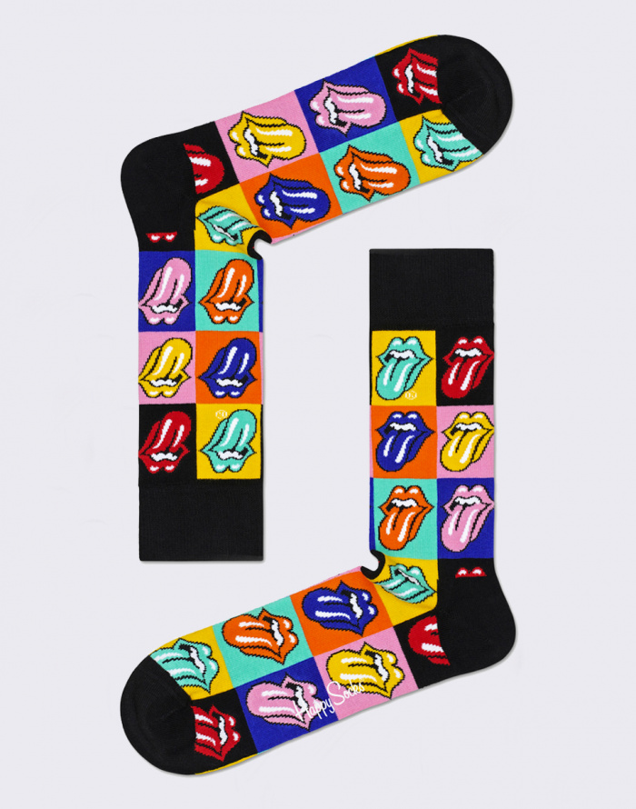 Ponožky Happy Socks Rolling Stones Jumpin Jack Flash