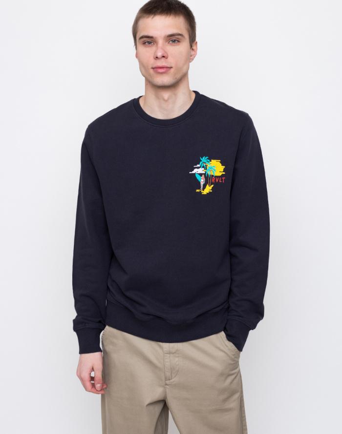 Mikina - RVLT - 2601 SUN Printed sweatshirt