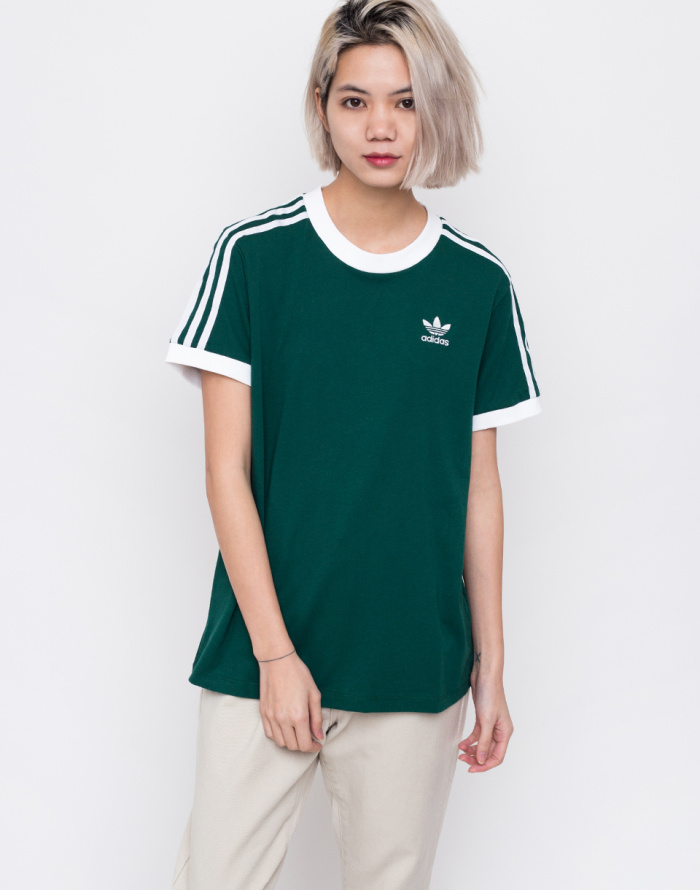 T-Shirt - adidas Originals - 3 Stripes Tee  13f783676408
