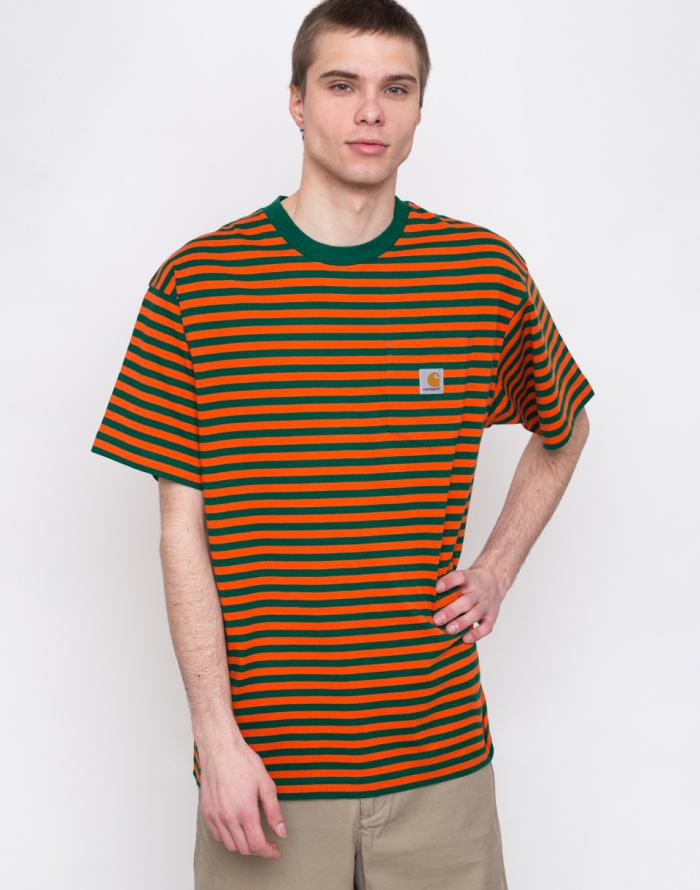 Triko - Carhartt WIP - Barkley Pocket T-Shirt