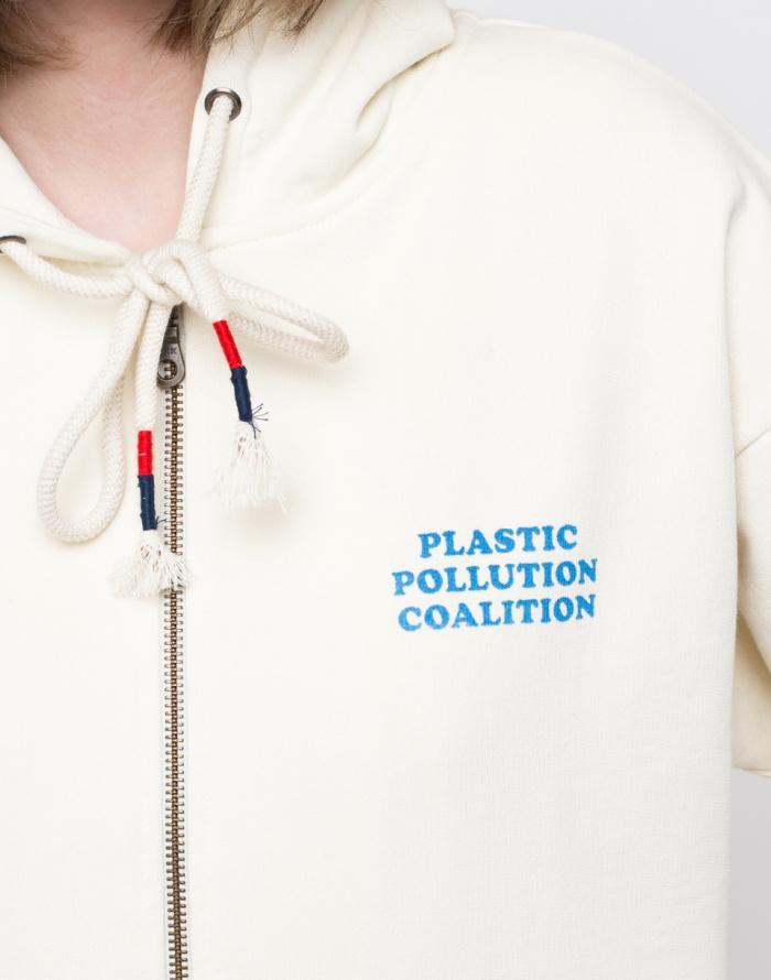 Mikina - Thinking MU - Oceans Free Of Plastic Hoodie