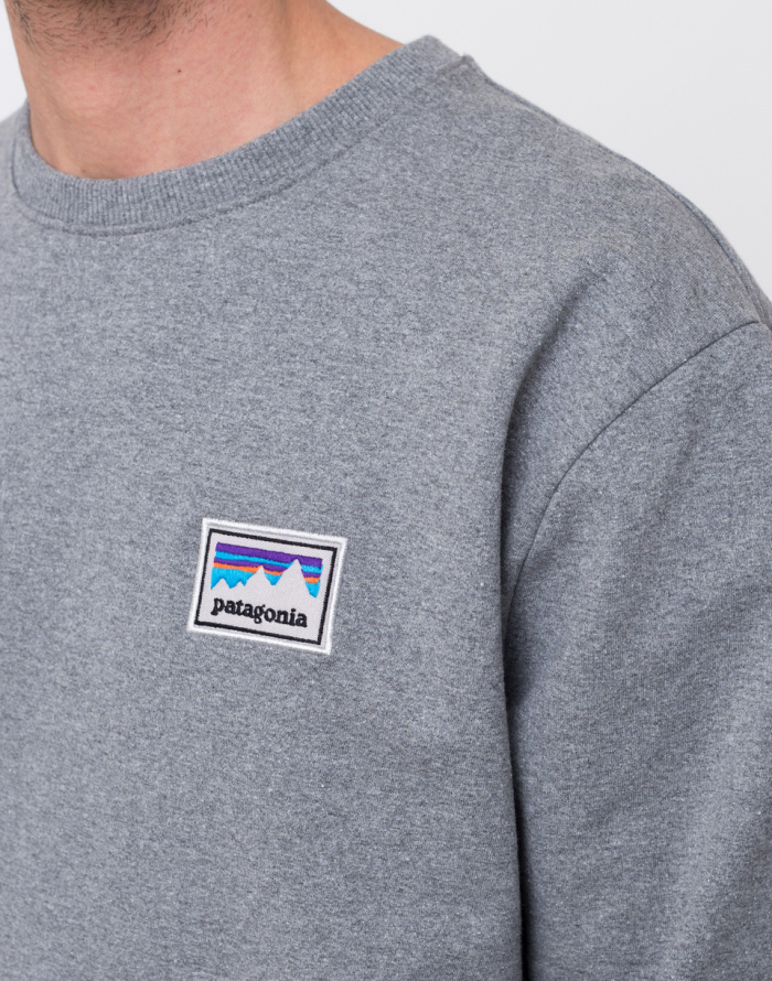 Mikina - Patagonia - Shop Sticker Patch Uprisal Crew Sweatshirt