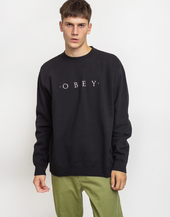 Mikina Obey Nouvelle II Crew