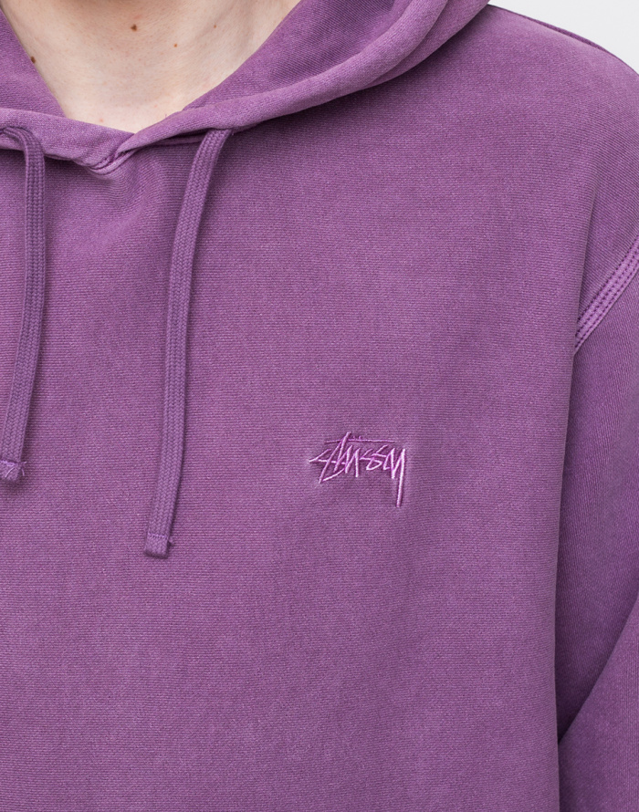 Mikina - Stüssy - Stock Logo Hood