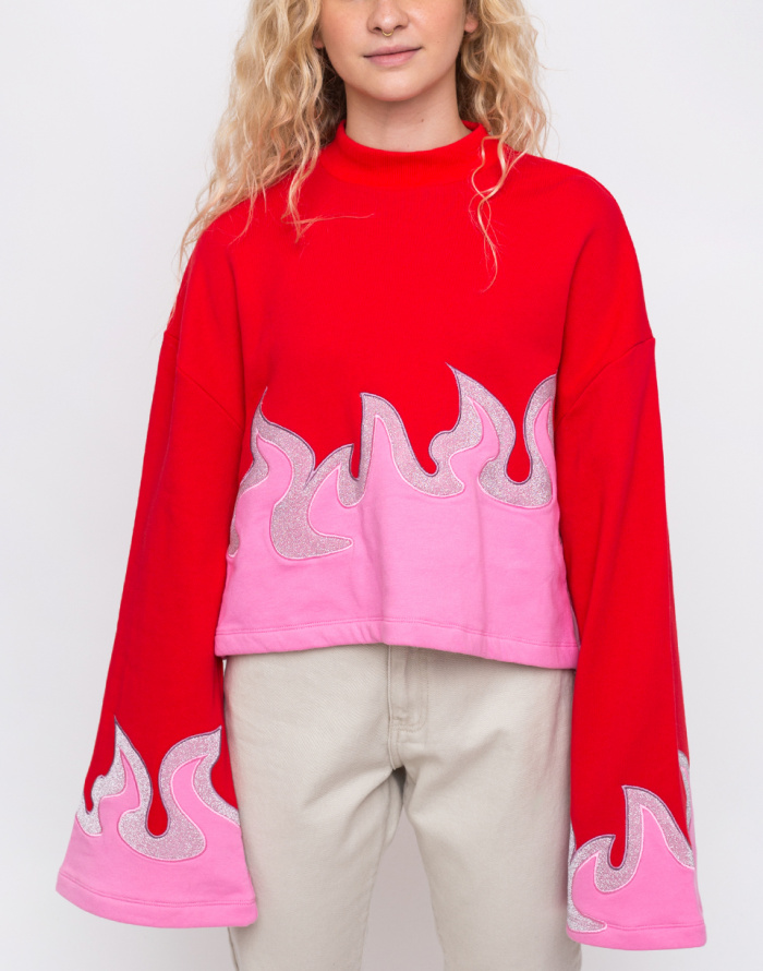 Mikina - Lazy Oaf - On Fire