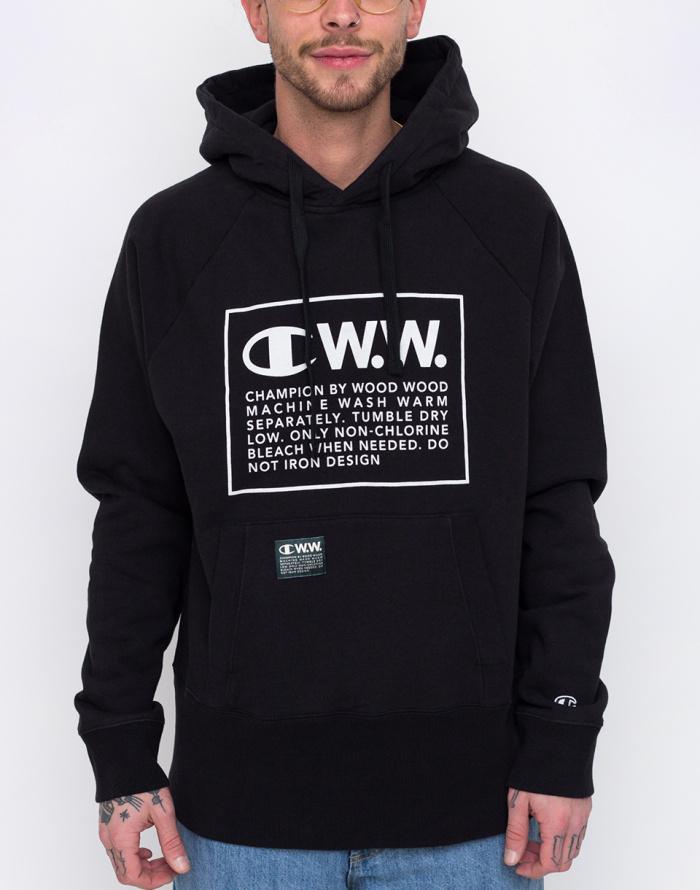 Mikina - Champion - Wood Wood Hooded Sweatshirt