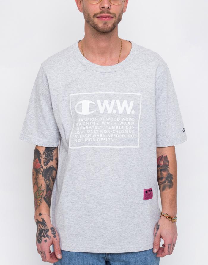Triko - Champion - Wood Wood Crewneck T-Shirt