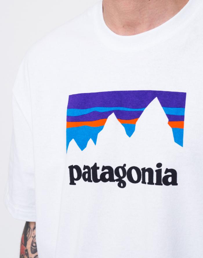 Triko - Patagonia - Shop Sticker Responsibili-Tee