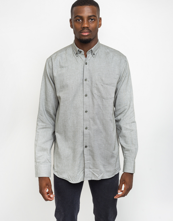 Košile By Garment Makers The Organic Flannel Shirt