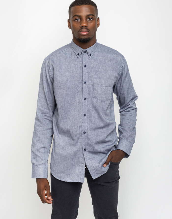 Košile - By Garment Makers - The Organic Flannel Shirt