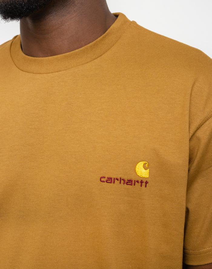 Triko Carhartt WIP American Script T-Shirt