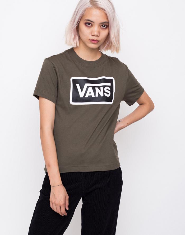 ab621821052f02 T-Shirt - Vans - Boom Boom Boxy