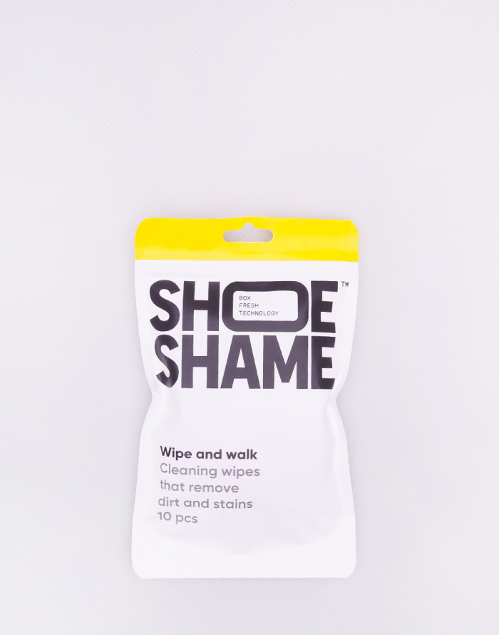 Péče o boty Shoe Shame Wipe and Walk