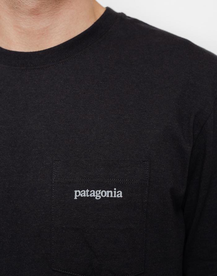 Triko - Patagonia - Line Logo Ridge Pocket Responsibili-Tee