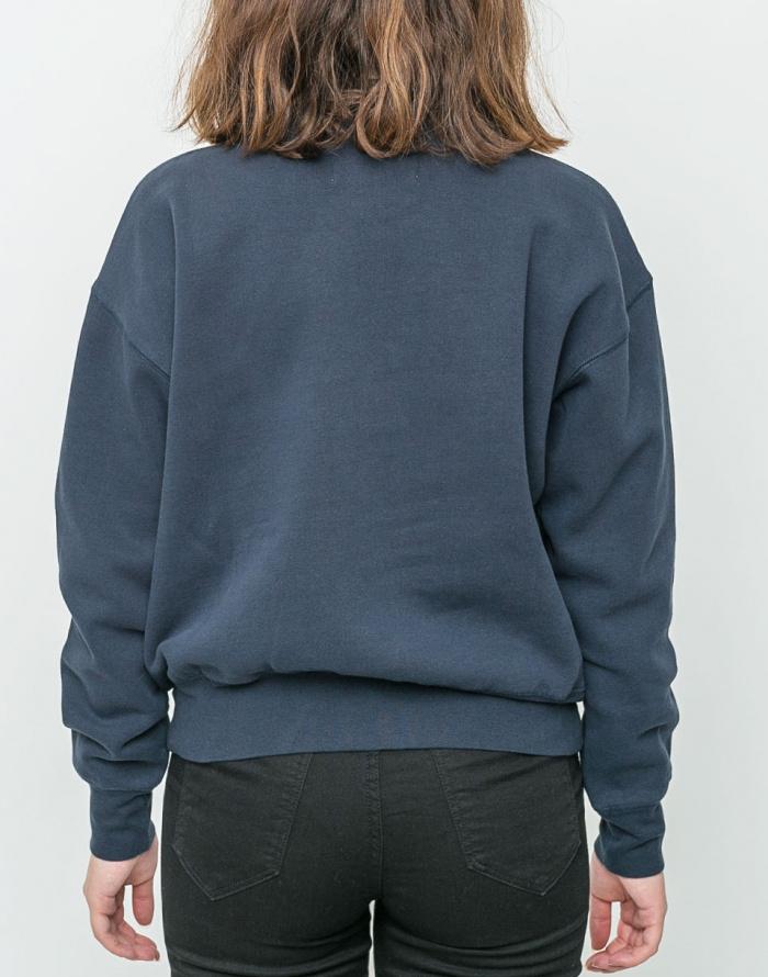 Mikina - Thinking MU - Blue Neckshirt