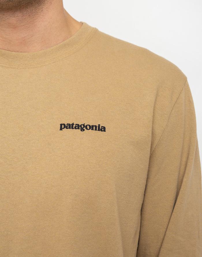 Triko - Patagonia - L/S P-6 Logo Responsibili-Tee