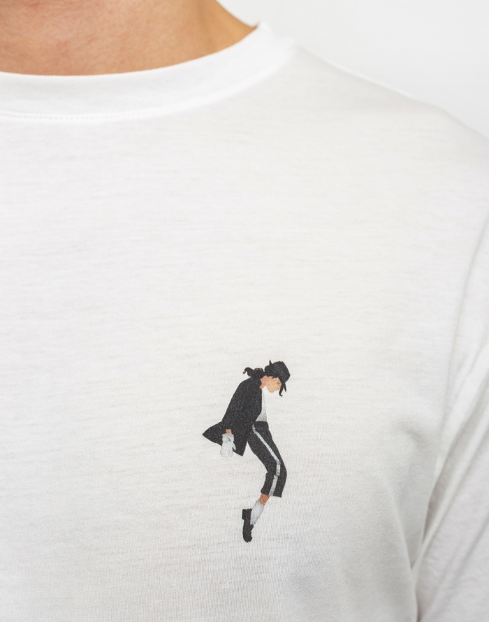 Triko Thinking MU Michael Jackson T-shirt - Jalon