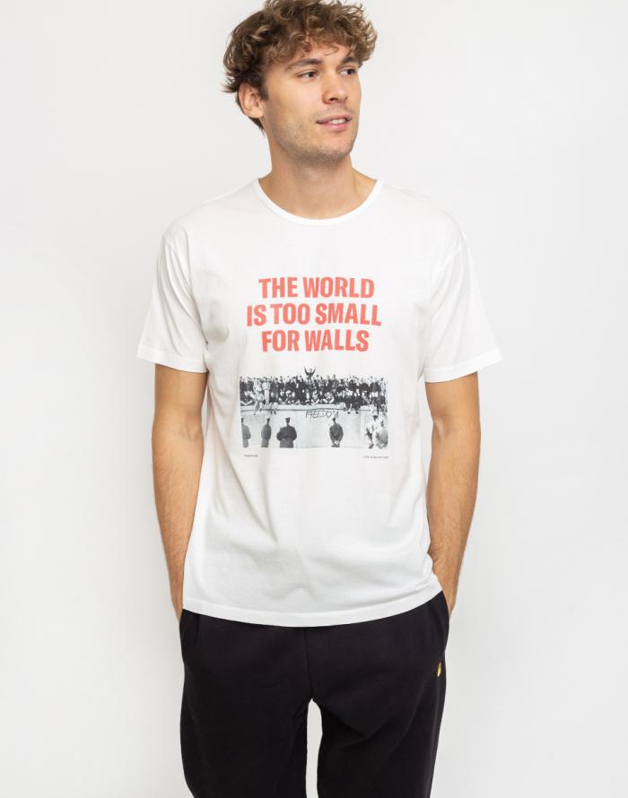Triko Thinking MU No Walls Berlin T-shirt