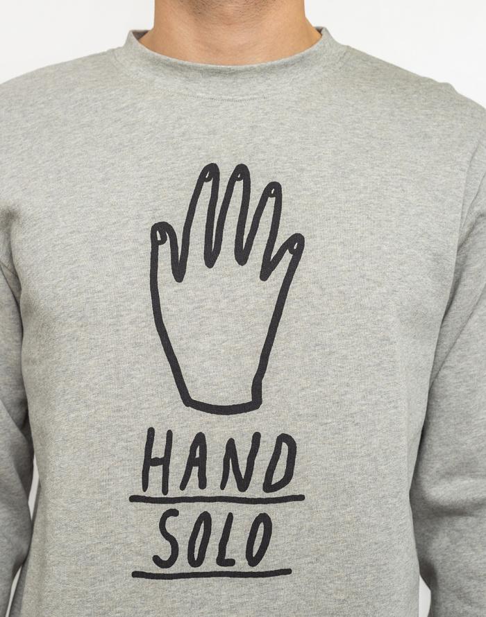 Mikina Thinking MU Hand Solo Sweatshirt - Mandanga