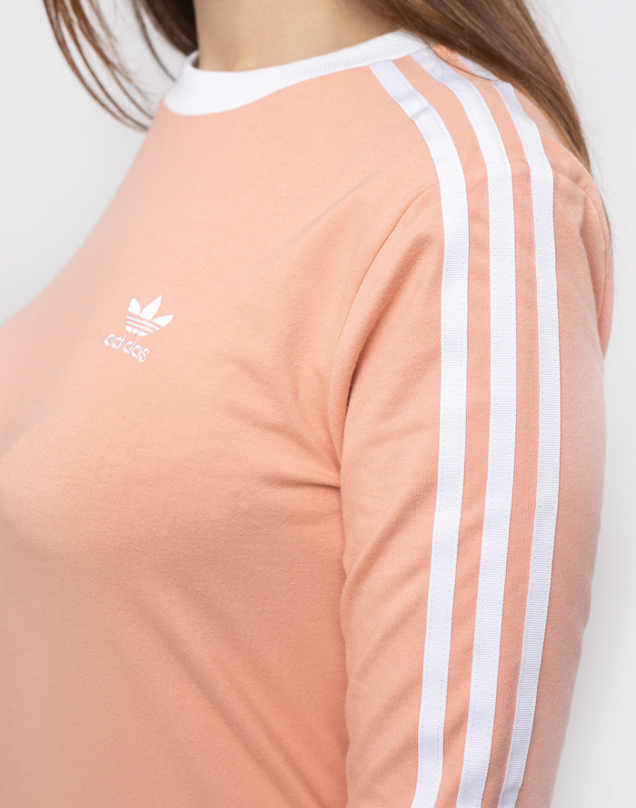 Triko - adidas Originals - 3 Str Ls Tee
