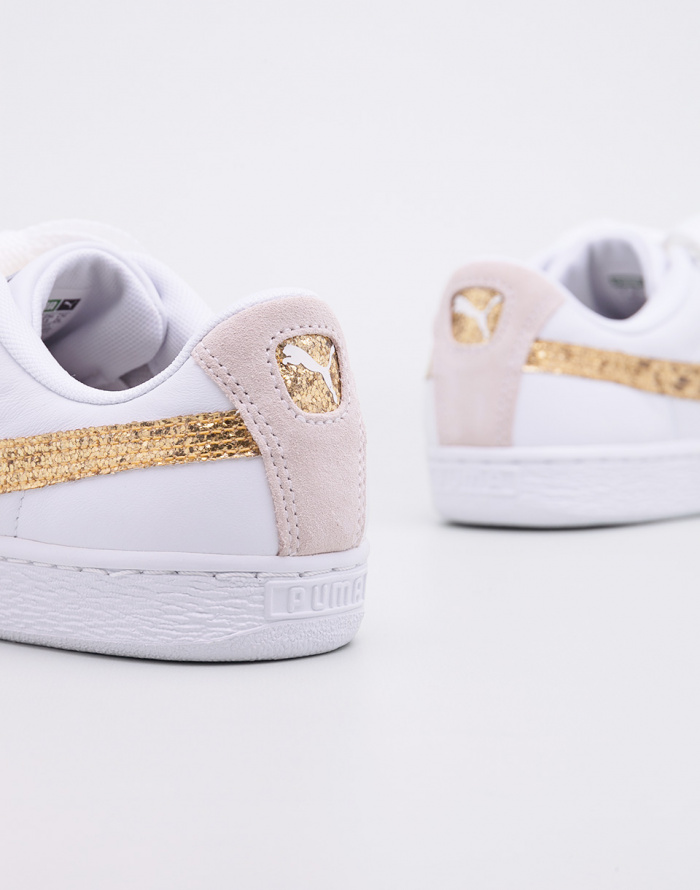 Tenisky - Puma - Basket Heart Glitter