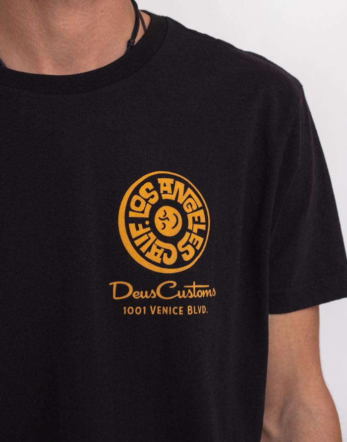 Triko Deus Ex Machina Venice Address Tee