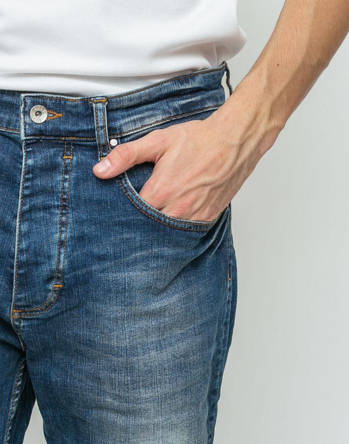 Kalhoty - RVLT - 5203 Denim Loose
