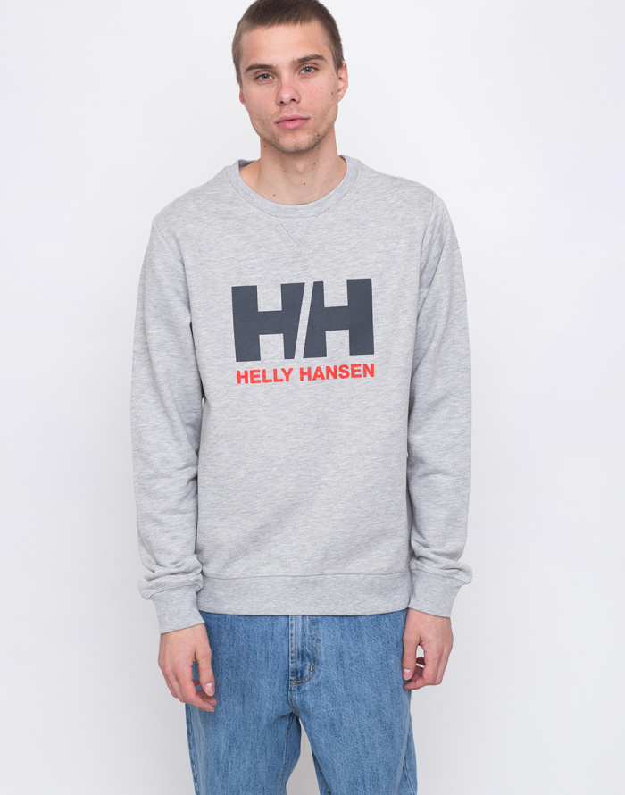 Mikina - Helly Hansen - Logo Crew Sweat