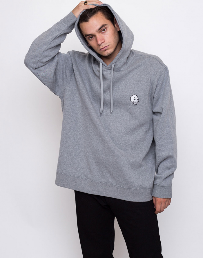 38ed5f06b Sweatshirt - Cheap Monday - Pullover Hood Skull Badge | Freshlabels.cz